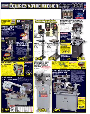 Machinerie à métal-AUTOMNE/HIVER - 2021
